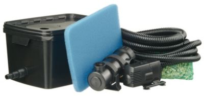 Ubbink Einkammer-Teichfilter-Set FiltraPure 2000 PlusSet