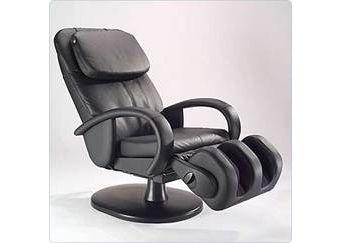 Massagesessel HT-1259, schwarz