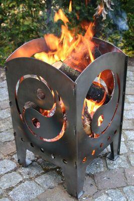 Feuerkorb Yin & Yang L