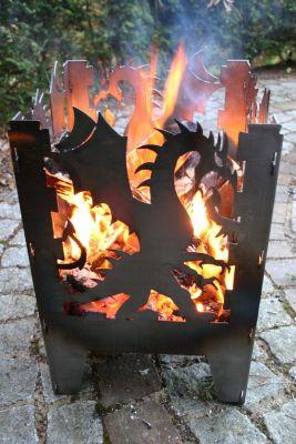 Feuerkorb Drache L | Garten > Grill und Zubehör > Feürstellen | SvenskaV