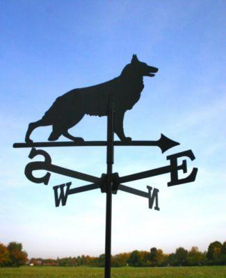 SvenskaV Wetterfahne Schäferhund klein