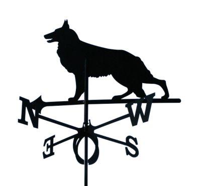 SvenskaV Wetterfahne Schäferhund groß
