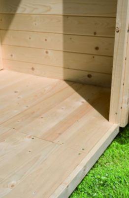 Karibu Boden für Sockelmaß 180 cm x 150 cm