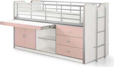 Vipack Hochbett Bonny BOHS95, rosa