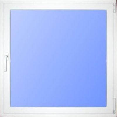 Wärmeschutzfenster Kunststoff weiß/weiß 80 x 80 cm DIN rechts