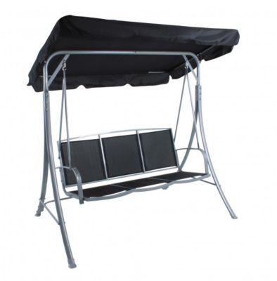 hollywoodschaukel schwarz preisvergleich die besten angebote online kaufen. Black Bedroom Furniture Sets. Home Design Ideas