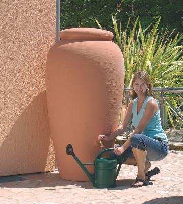 Regen-Amphoren terracotta 300 L