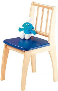 Kinderstuhl Bambino blau