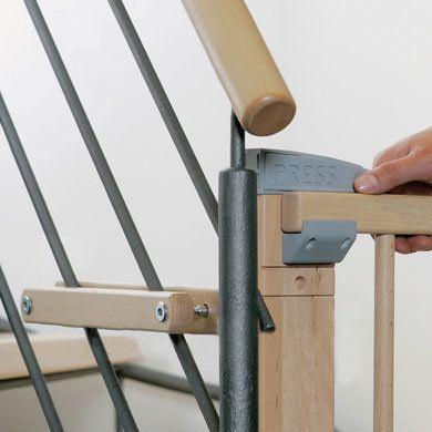 Zusatzklemmmen-Set für Treppenschutzgitter (2725ZK)