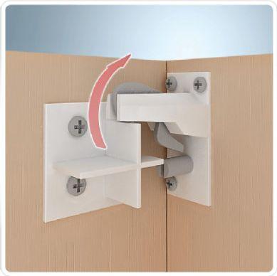 Magnetschloss - Kindersicherung für Schränke + Schubladen-