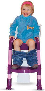 Kiddyloo Toilettentrainer Lila/Rosa (7045)