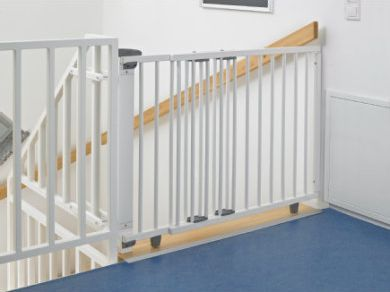 Treppenschutzgitter 2733 70 - 111 cm weiß