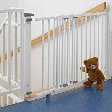 Treppenschutzgitter 2735 99,5 - 140 cm weiß