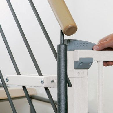 Zusatzklemmen Treppenschutzgitter 2725ZK weiß