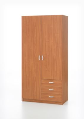 kleiderschrank focus 75076 weiss b2b trade. Black Bedroom Furniture Sets. Home Design Ideas