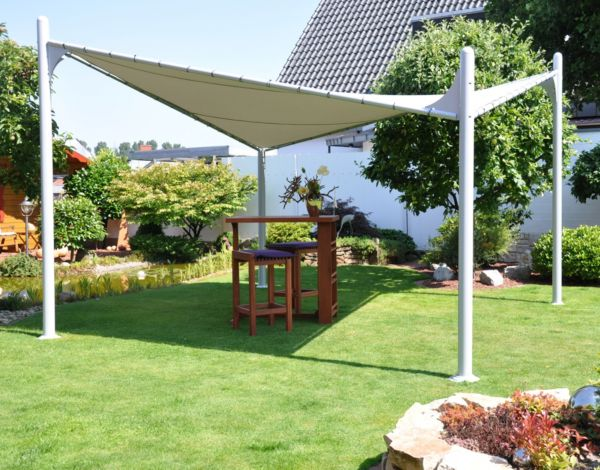 leco pavillon catua sonnenschutz sonnensegel gartenpavillon ebay. Black Bedroom Furniture Sets. Home Design Ideas