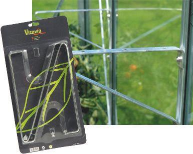 Vitavia Regalträger für Gewächshausregale, 2 Stück | Garten > Gewächshäuser | Vitavia