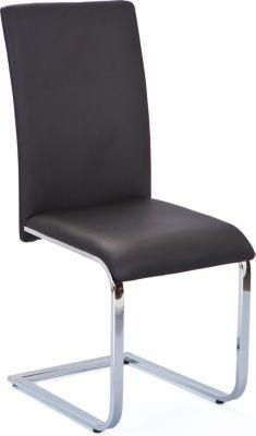 Inter Link Esszimmer Stuhl Dakota Schwarz/chrome