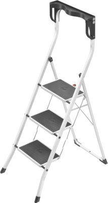 Safety Plus Stahl-Klapptritt - 3 Stufen