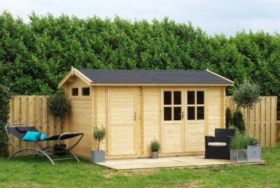 Outdoor Life William 250 Blockbohlenhaus 28 mm, 9,5 m²