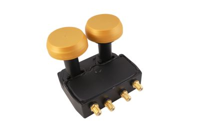 Micro Monoblock quad LNB New Gold