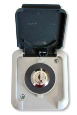 2 Steckdosenschlösser mit je 2 Schlüsseln   Baumarkt > Elektroinstallation > Steckdosen   Sonstiges