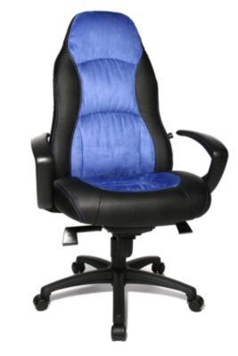 Topstar Chefsessel Speed Chair - blau/ schwarz
