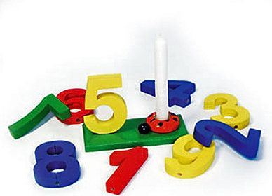 Geburtstags-Zahlen-Set mit Kerzen