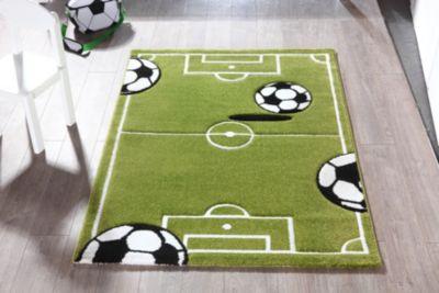 Teppich Fußball-Spielfeld