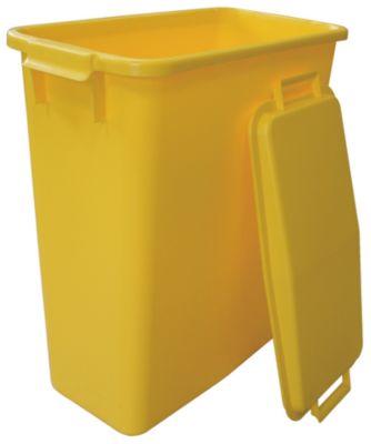 Graf Mehrzweckbehälter 60 L rechteckig gelb