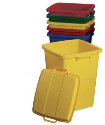 Graf Mehrzweckbehälter rechteckig 90 L gelb