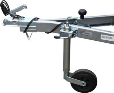 Stützrad inkl. Felge und Befestigung für Basic 550 / Basic 750 / Basic 850