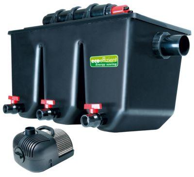 PTS 40000 UV Profi-Mehrkammer-Teichaußenfilter