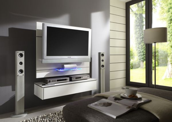 mf tv wand omega fernsehwand mediawand wand tv wandpaneel tv paneel ebay. Black Bedroom Furniture Sets. Home Design Ideas