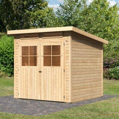gartenhaus mit pultdach preisvergleich die besten angebote online kaufen. Black Bedroom Furniture Sets. Home Design Ideas