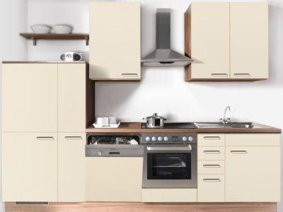 express kuchen kuchenzeile plan 300 cm ex300bcg015 eiche. Black Bedroom Furniture Sets. Home Design Ideas