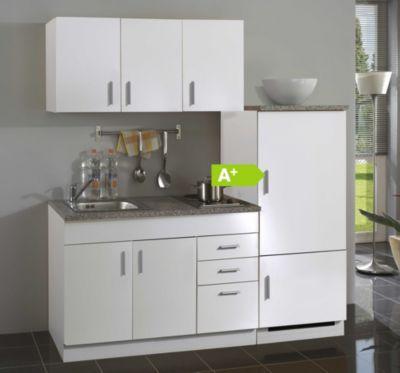 Im PLUS Shop: HELD Möbel Single-Küche Dallas 180 cm - Melamin weiß