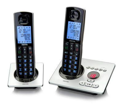 Switel DCT5572 - Schnurlos Telefon-Set mit Anrufbeantworter