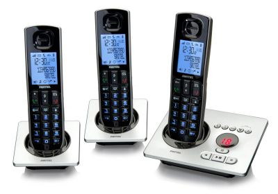 Switel DCT5573 - Schnurlos Telefon-Set mit Anrufbeantworter