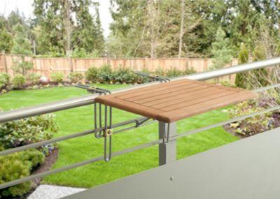 Merxx Balkonhängetisch, 60 x 40 cm   Garten > Balkon > Balkontische   Merxx