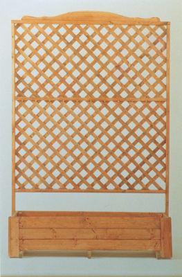 Blumenkasten mit Spalier CLASSIC B 136 x H 200 cm