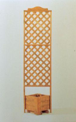 Eckelement mit Spalier CLASSIC B 37 x H 200 cm