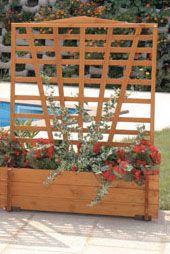 gaspo blumenkasten mit spalier mirabell b 100 x h 130 cm baumarkt xxl. Black Bedroom Furniture Sets. Home Design Ideas