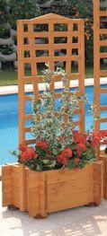 Blumenkasten mit Spalier Mirabell B 55 x H 130 cm