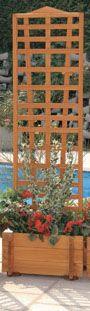 Blumenkasten mit Spalier Mirabell B 55 x H 180 cm
