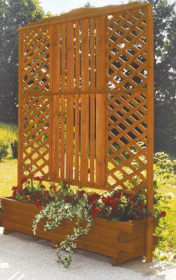 Blumenkasten mit Spalier ARLBERG B 140 x H 205 cm
