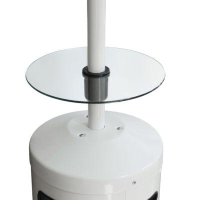 Enders Glastisch für Terrassenheizer mit Standrohr Ø 5 cm