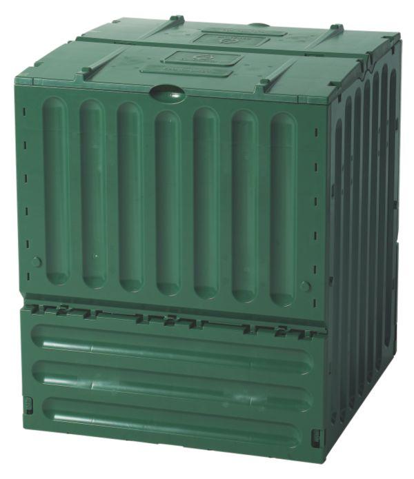 garantia eco king komposter 400 oder 600 l gartenkomposter thermokomposter laub ebay. Black Bedroom Furniture Sets. Home Design Ideas
