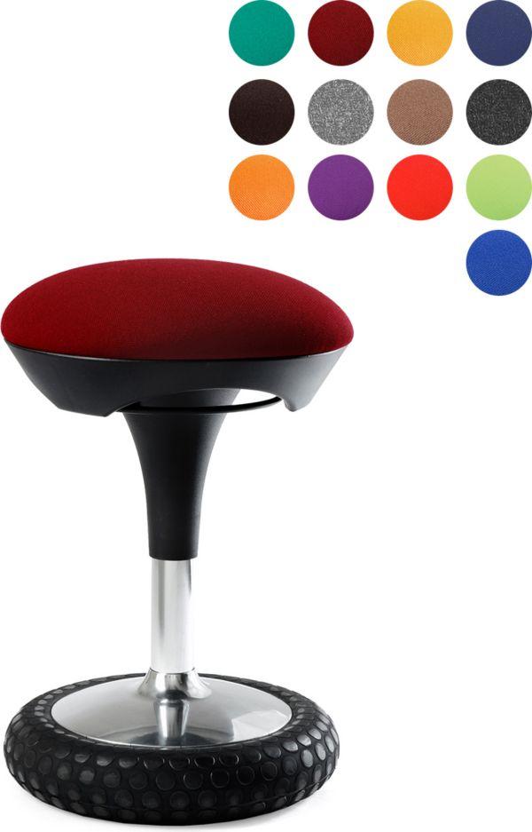 topstar fitness hocker sitness 20 versch farben sitzen. Black Bedroom Furniture Sets. Home Design Ideas