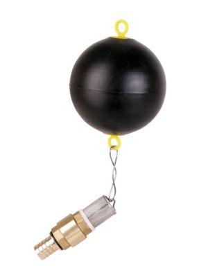 Ballschwimmer mit Fussventil für Zisternenpumpen